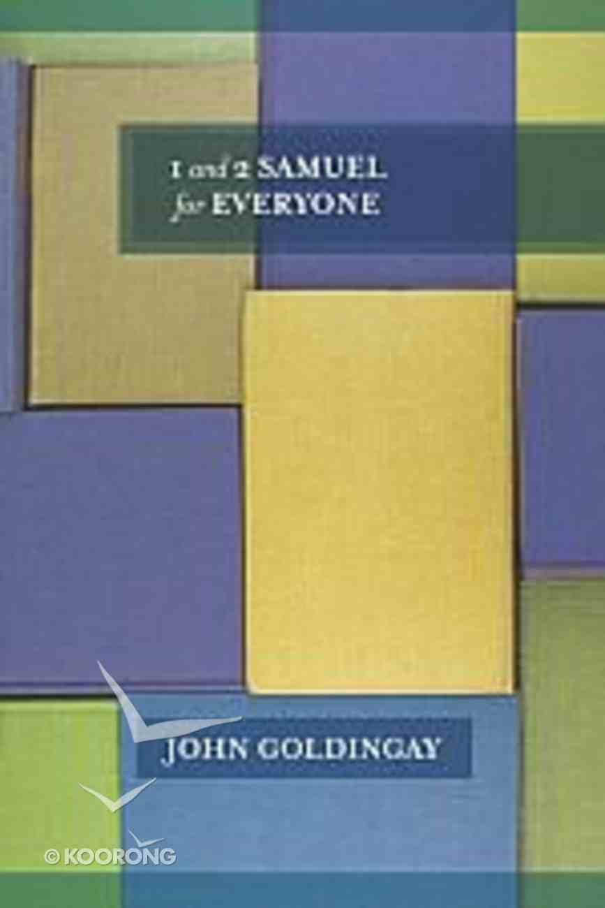 1 and 2 Samuel For Everyone (Old Testament Guide For Everyone Series) Paperback