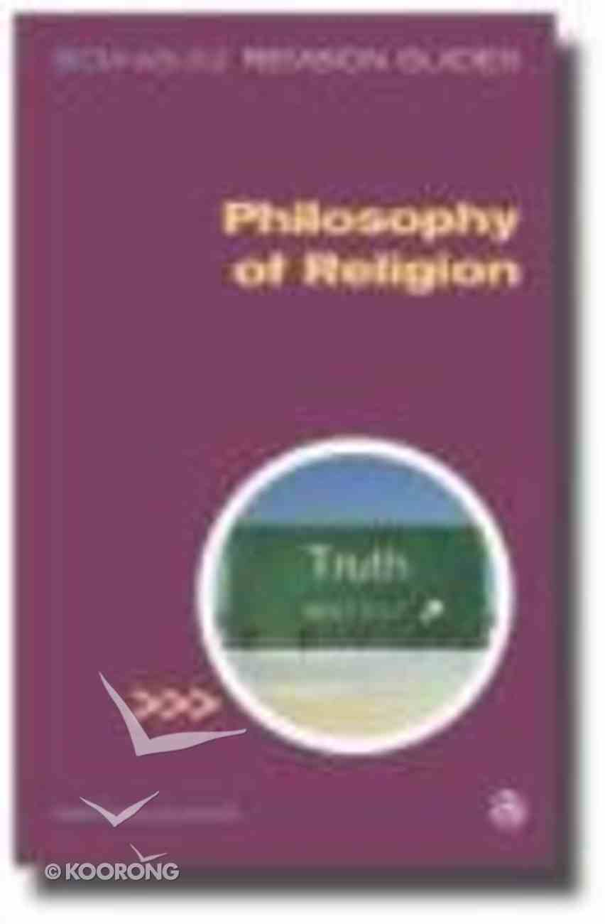 Scm: As A2 Revision Guide Philosophy of Religion Paperback