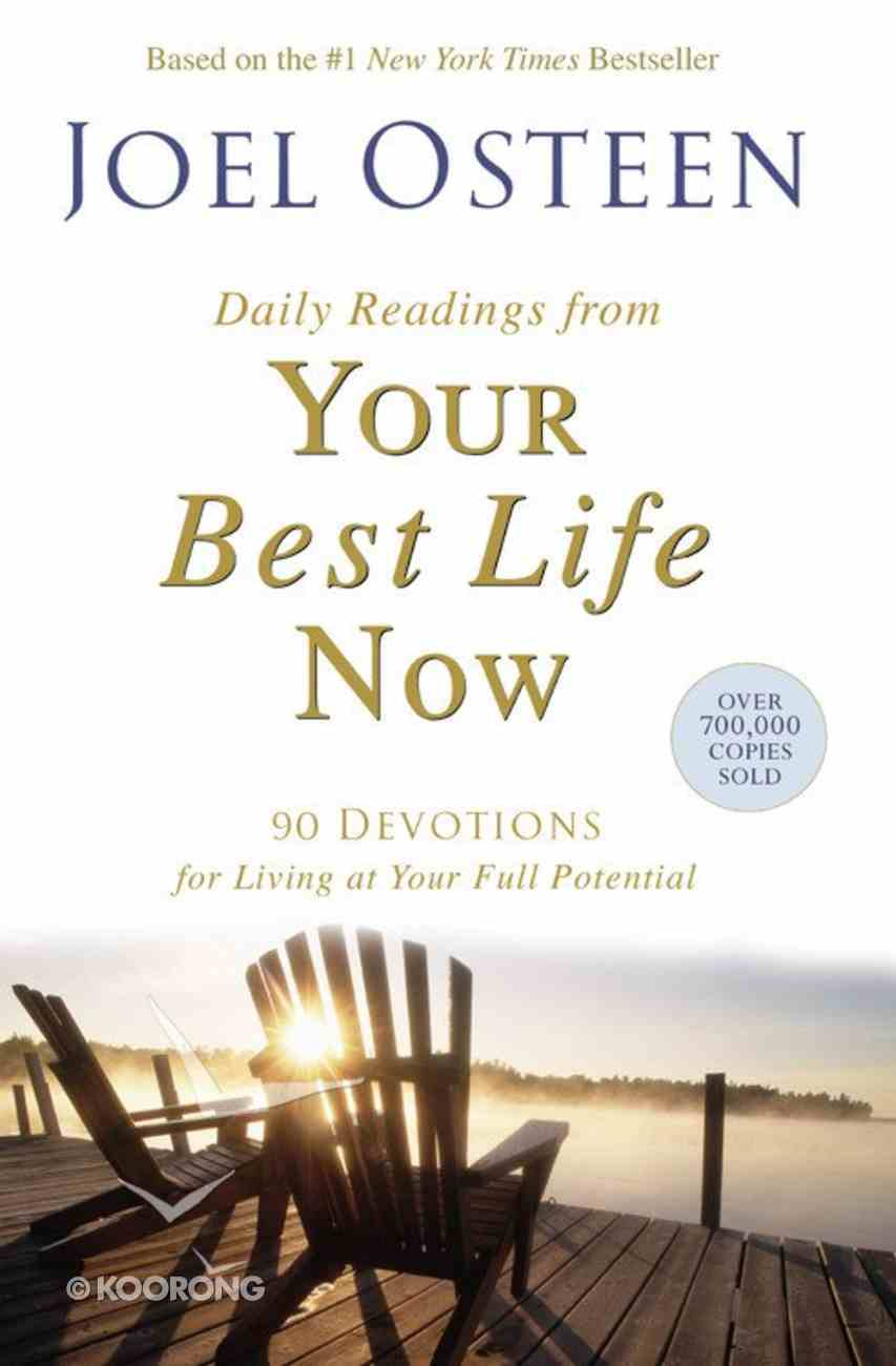 Daily Readings From Your Best Life Now Paperback