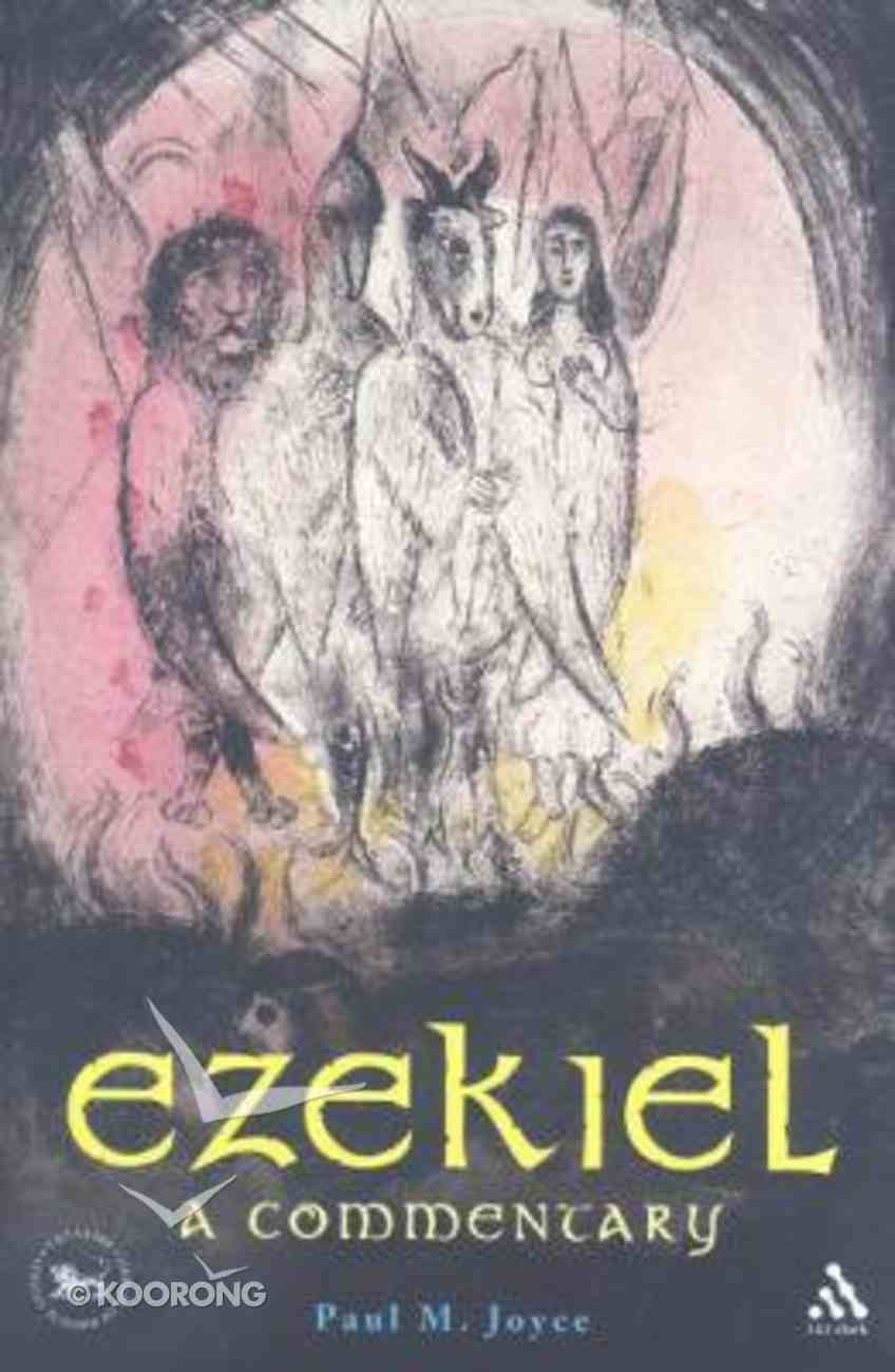 Ezekiel - a Commentary (Library Of Hebrew Bible/old Testament Studies Series) Paperback