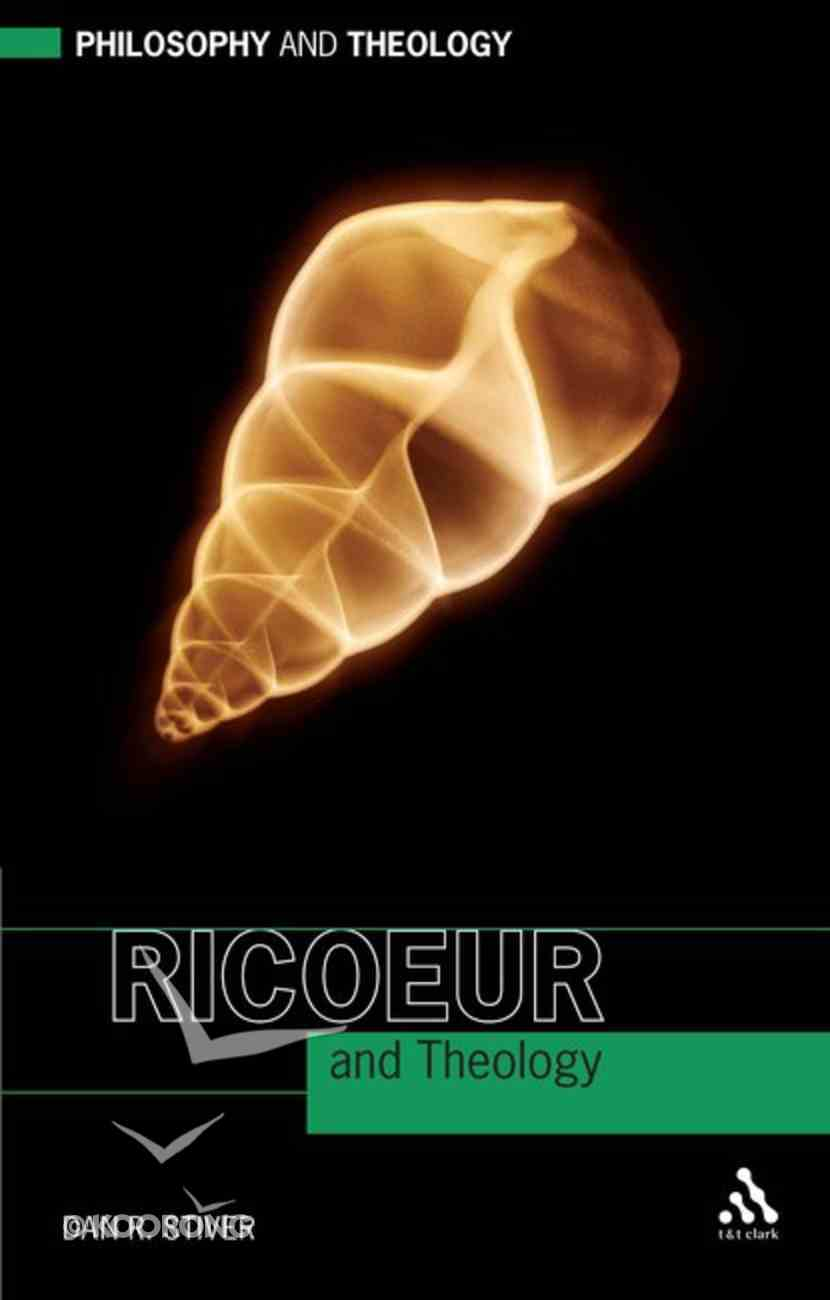 Ricoeur and Theology Paperback