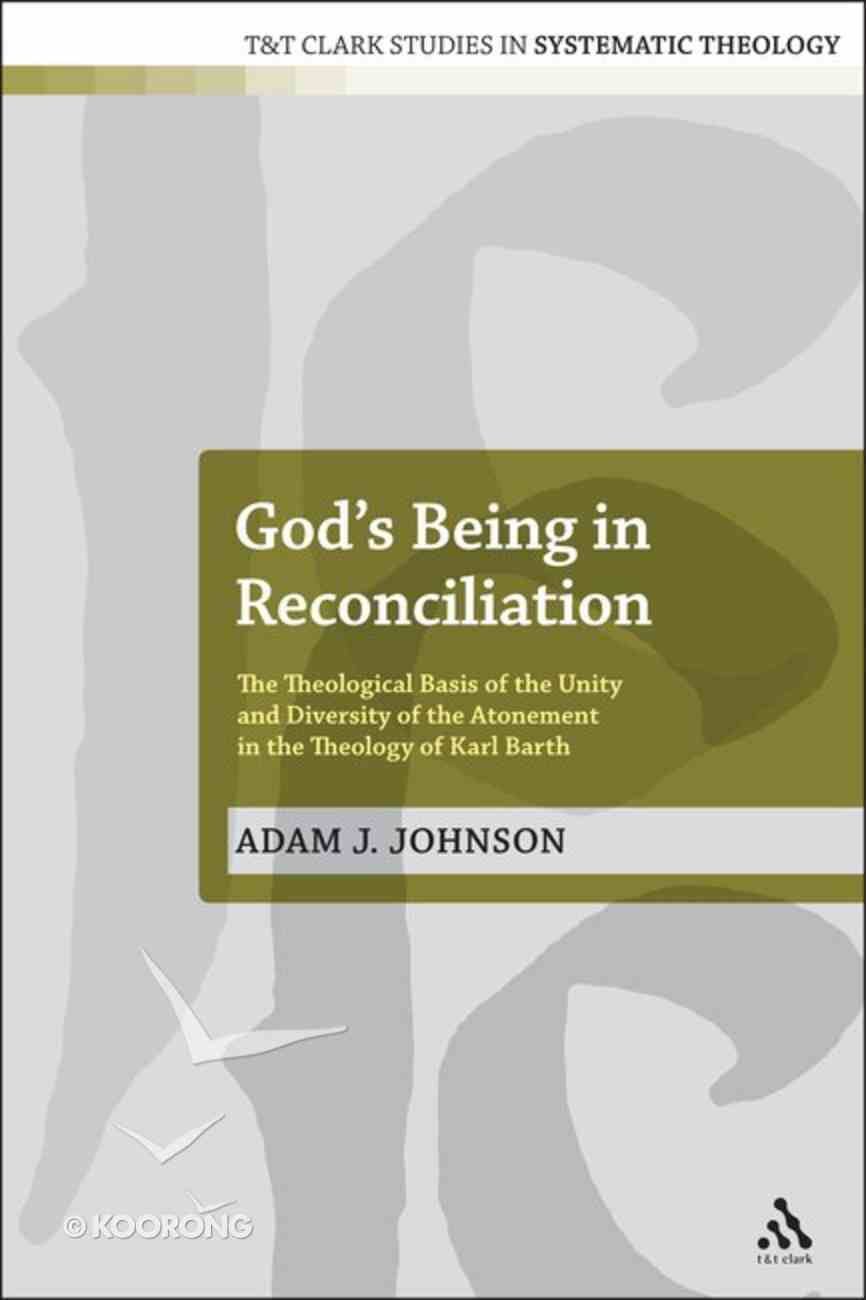 God's Being in Reconciliation Hardback