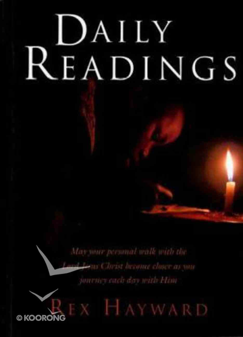 Daily Readings Paperback