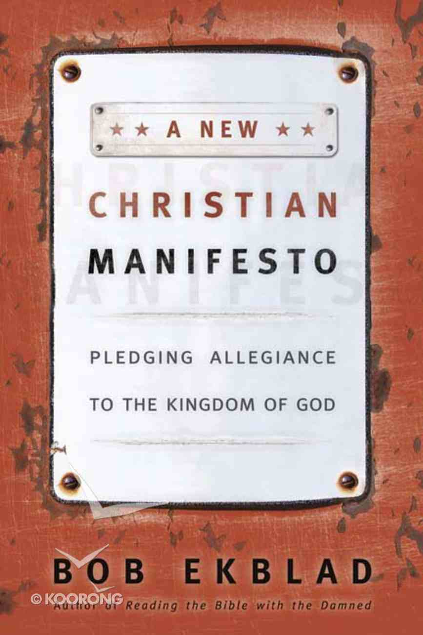 A New Christian Manifesto Paperback