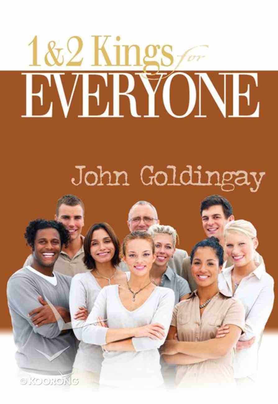 Otgfe: 1 and 2 Kings For Everyone Paperback
