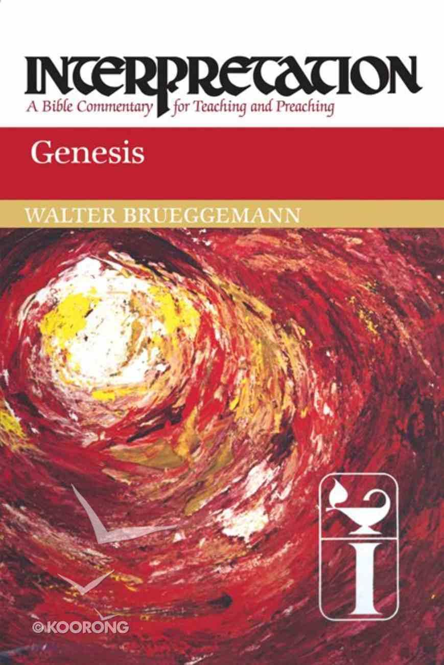 Genesis (Interpretation Bible Commentaries Series) Paperback