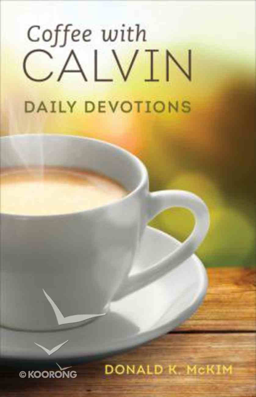Coffee With Calvin Paperback