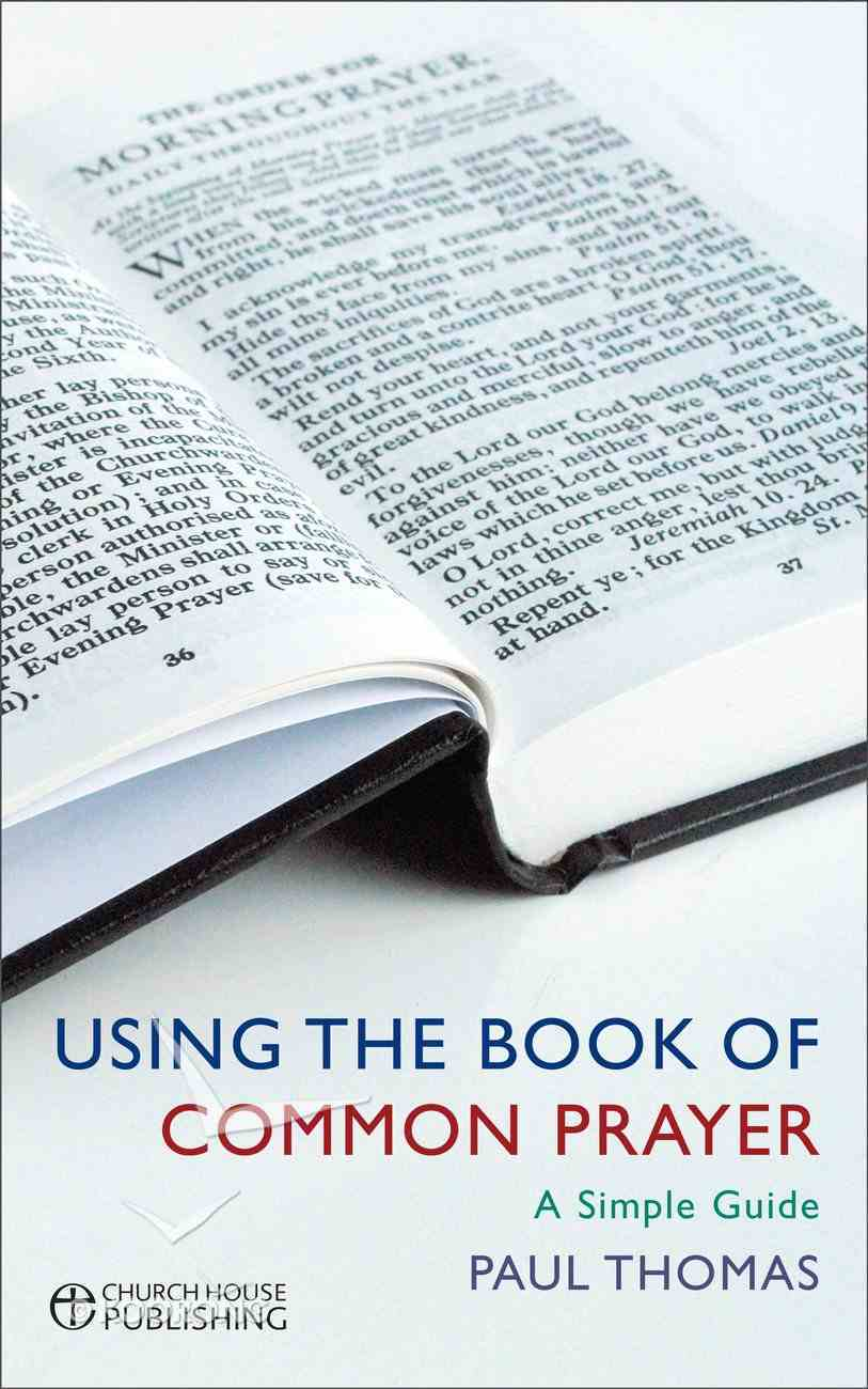 Using the Book of Common Prayer (Bcp) Paperback