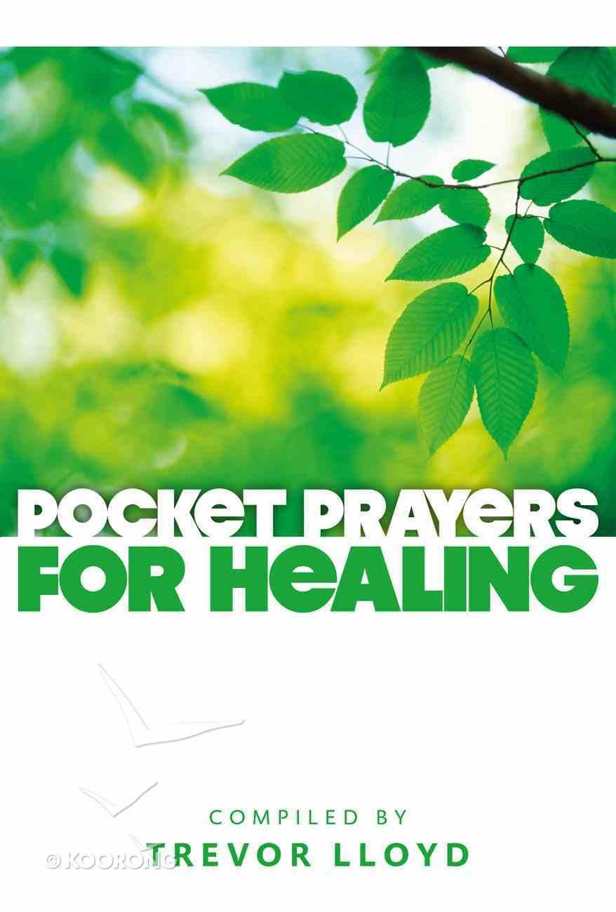 Pocket Prayers For Healing Paperback
