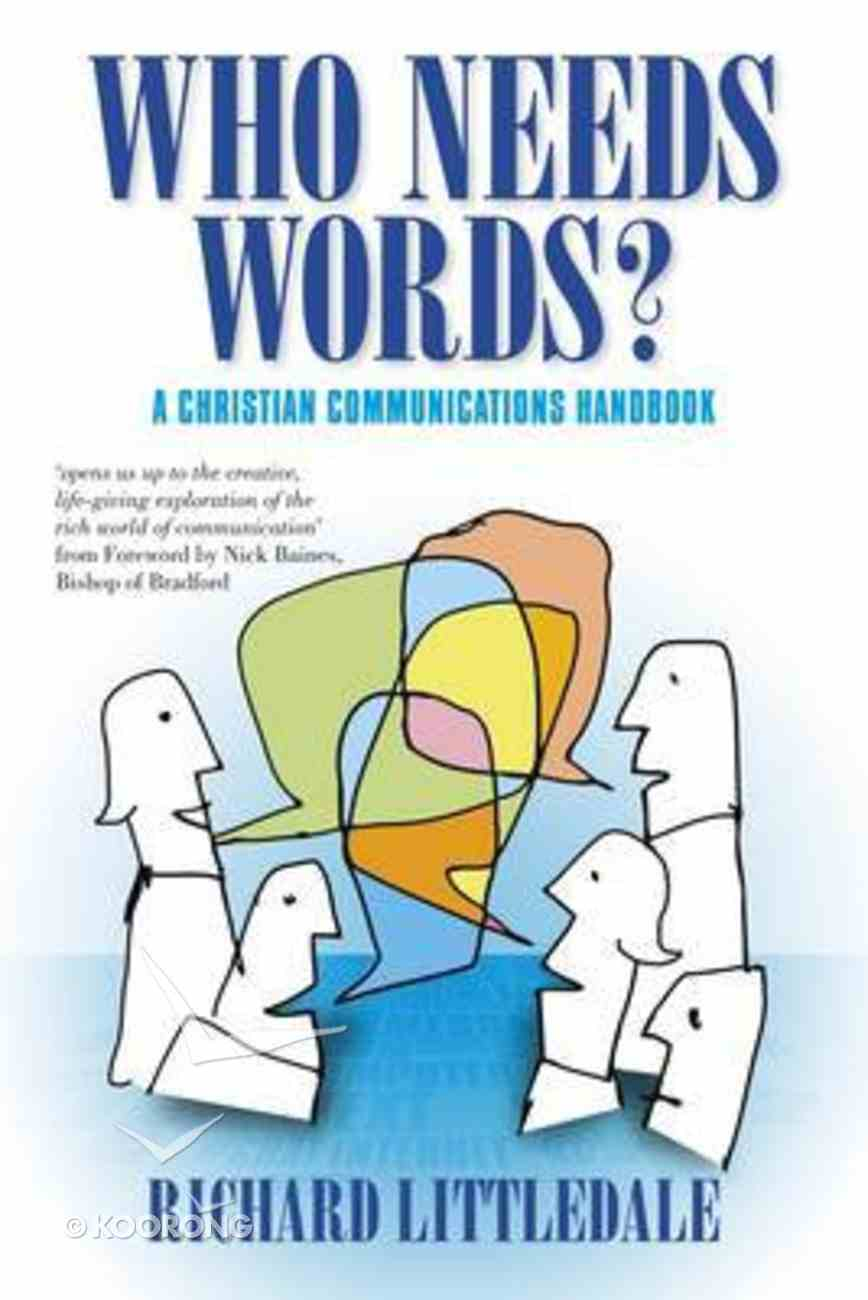 Who Needs Words? Paperback