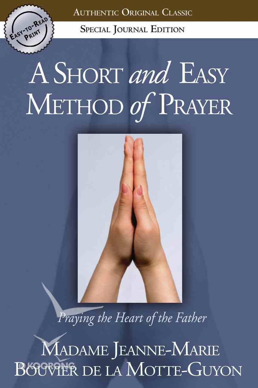 Short and Easy Method of Prayer Paperback