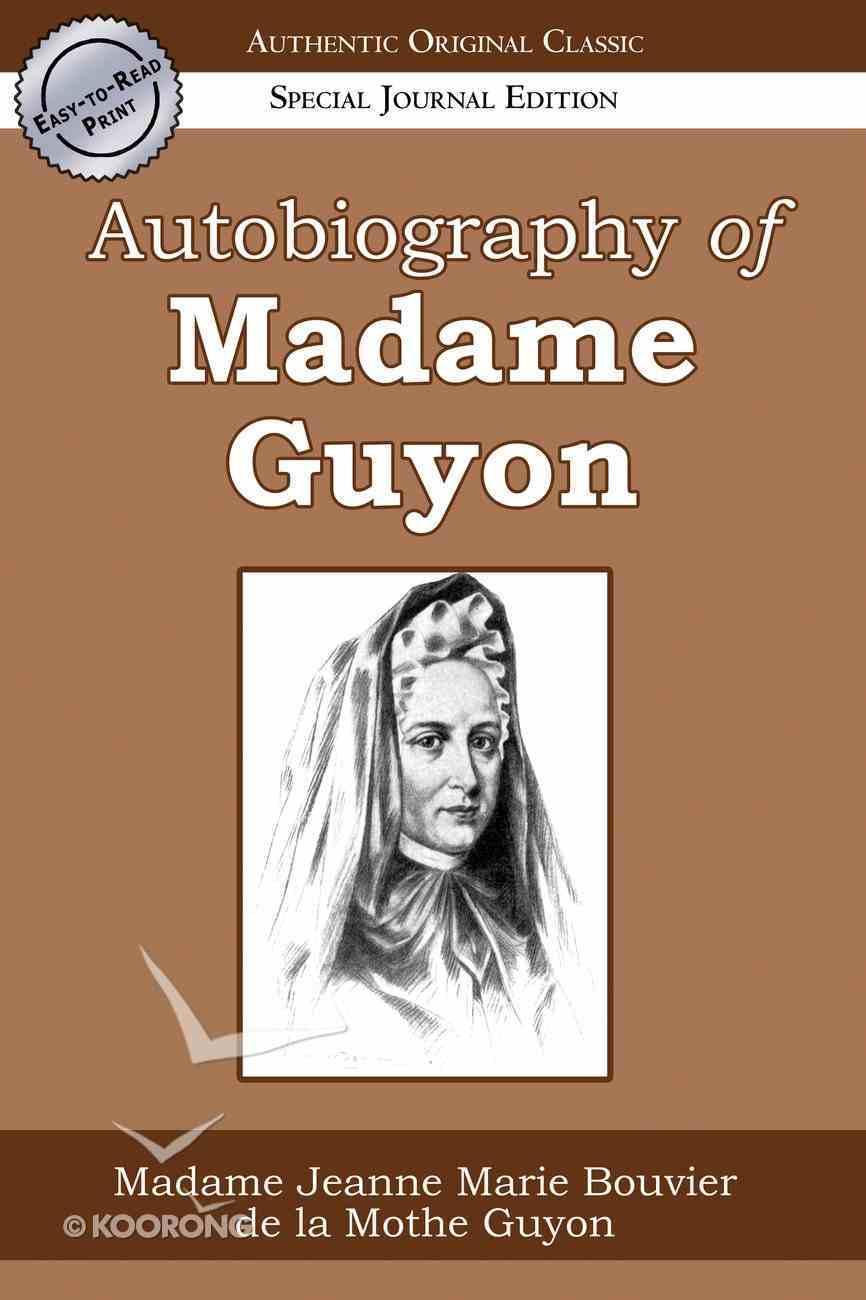 Autobiography of Madame Guyon Paperback