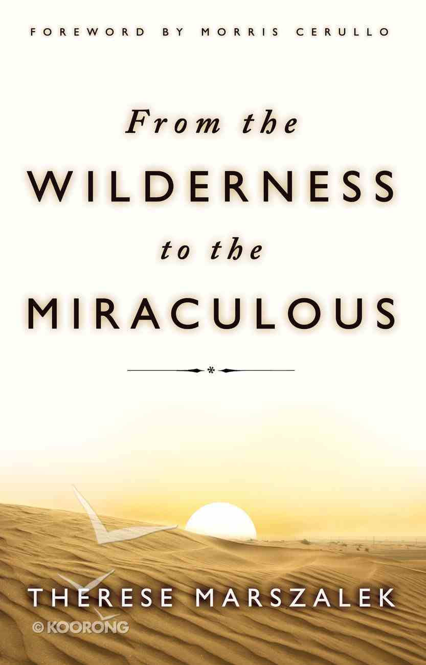 From the Wilderness to the Miraculous Paperback