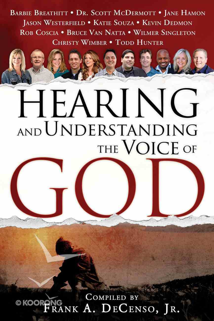 Hearing and Understanding the Voice of God Paperback