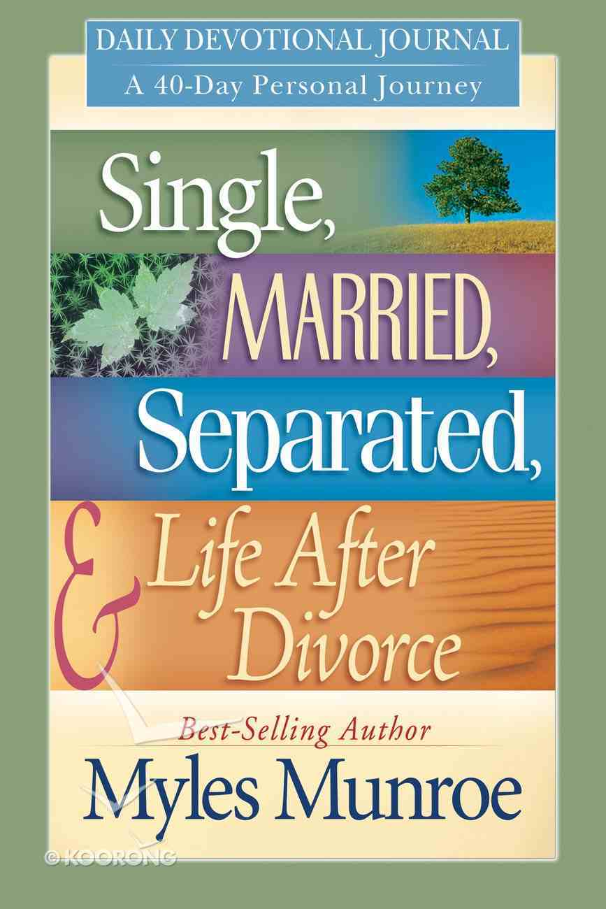 Single, Married, Separated and Life After Divorce Daily Study eBook