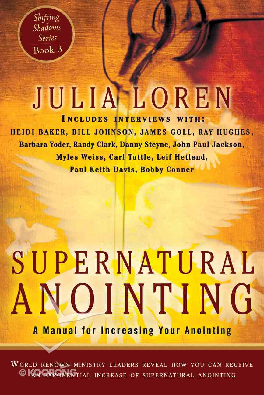 Supernatural Annointing eBook