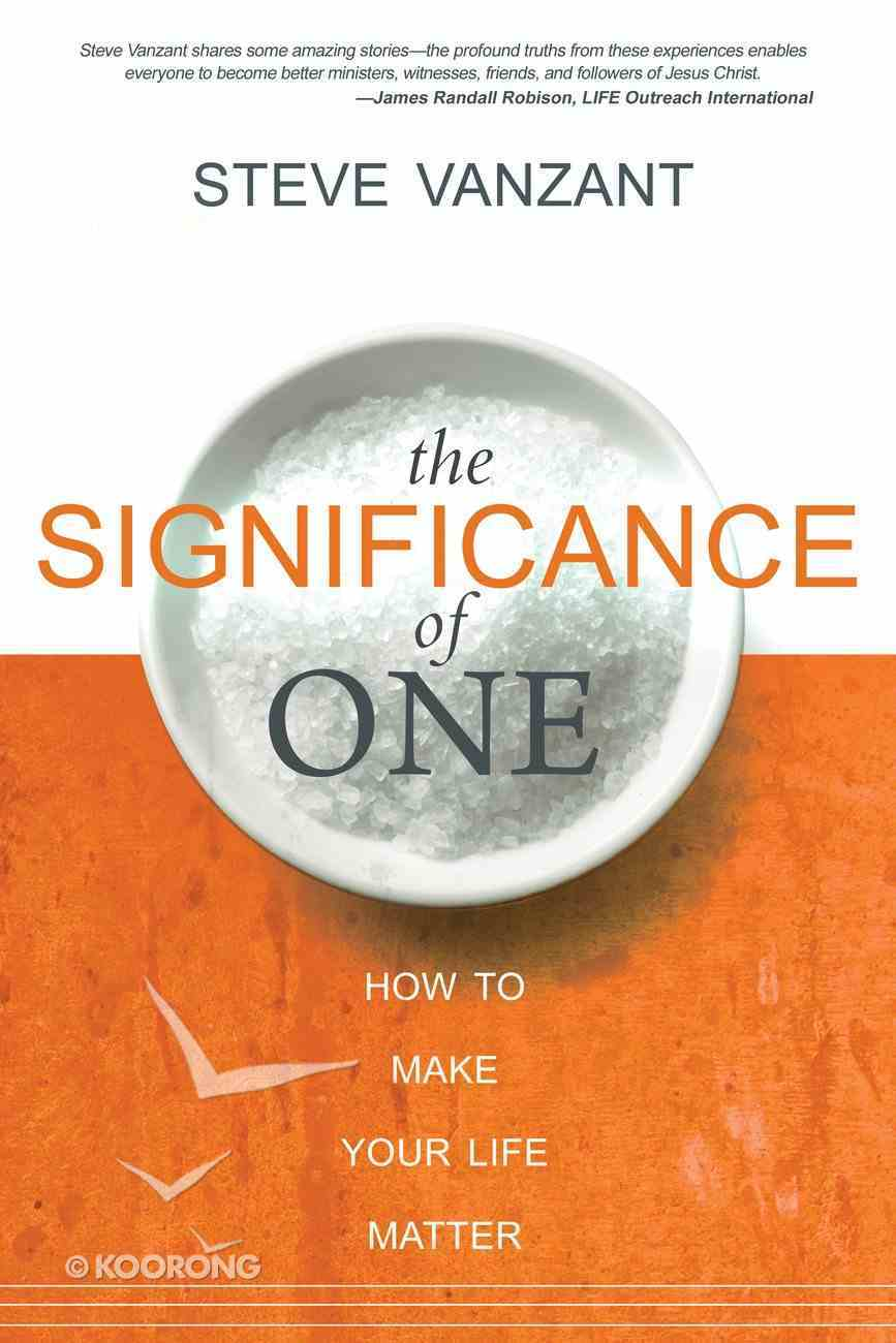 The Significance of One eBook