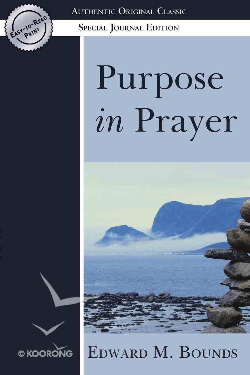 Purpose in Prayer eBook