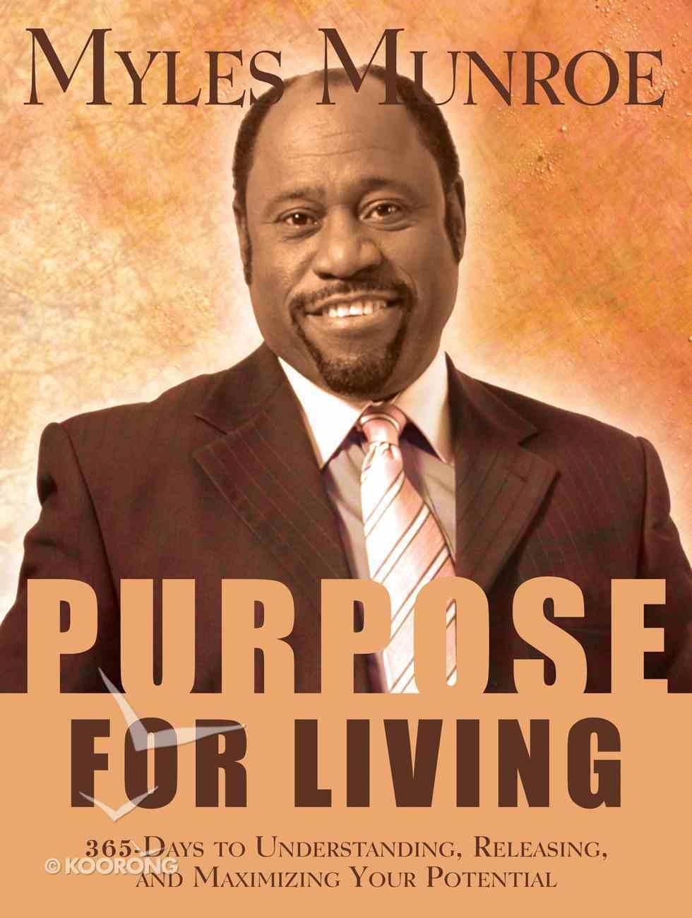 Purpose For Living eBook