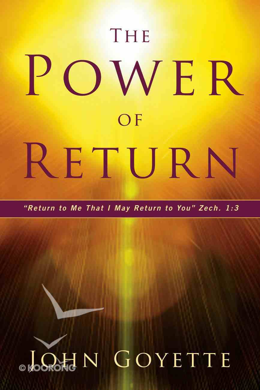 The Power of Return eBook