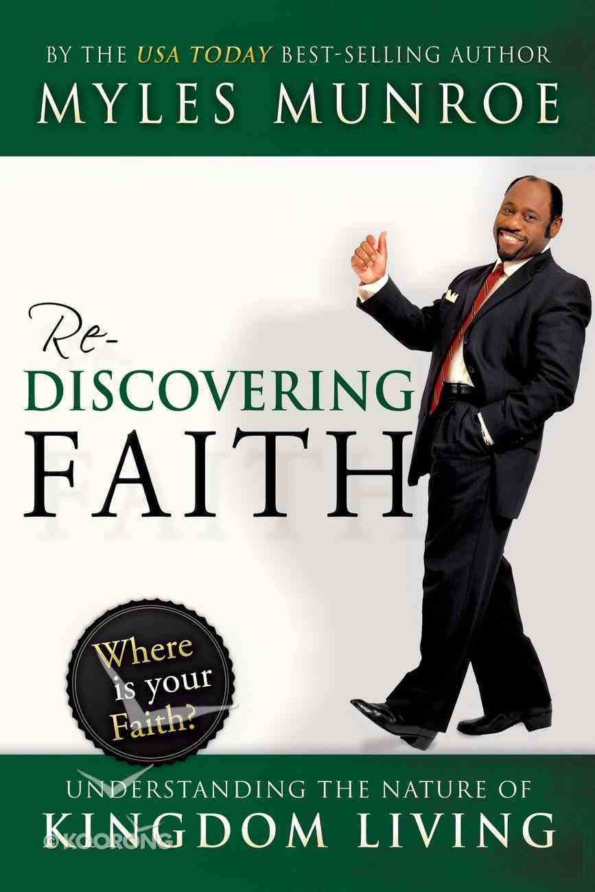 Rediscovering Faith eBook