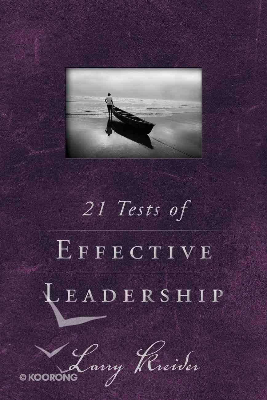21 Tests of Effective Leadership eBook