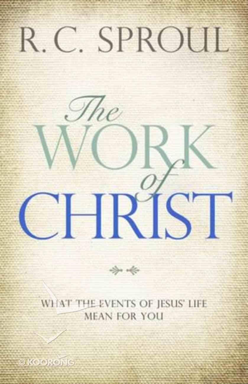 Ct: The Work of Christ Hardback
