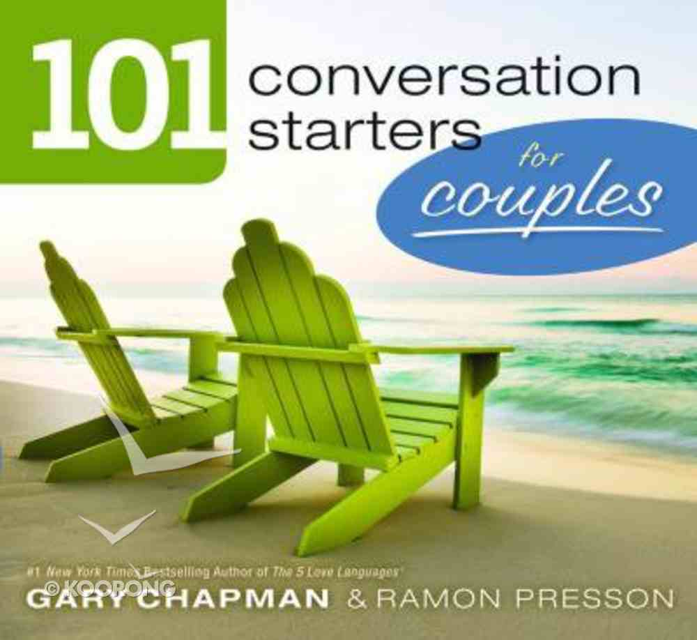 101 Conversation Starters For Couples Paperback