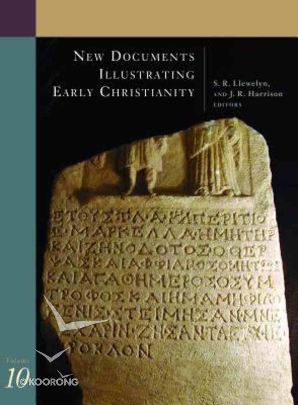 Greek and Other Inscriptions and Papyri Published 1988-1992 (#10 in New Documents Illustrating Early Christianity Series) Paperback