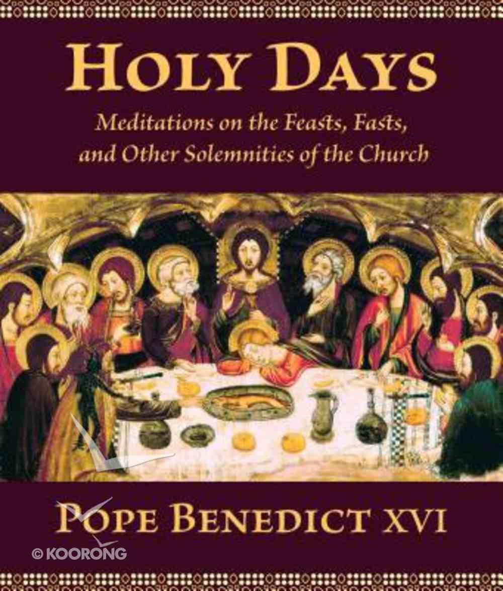 Holy Days Paperback