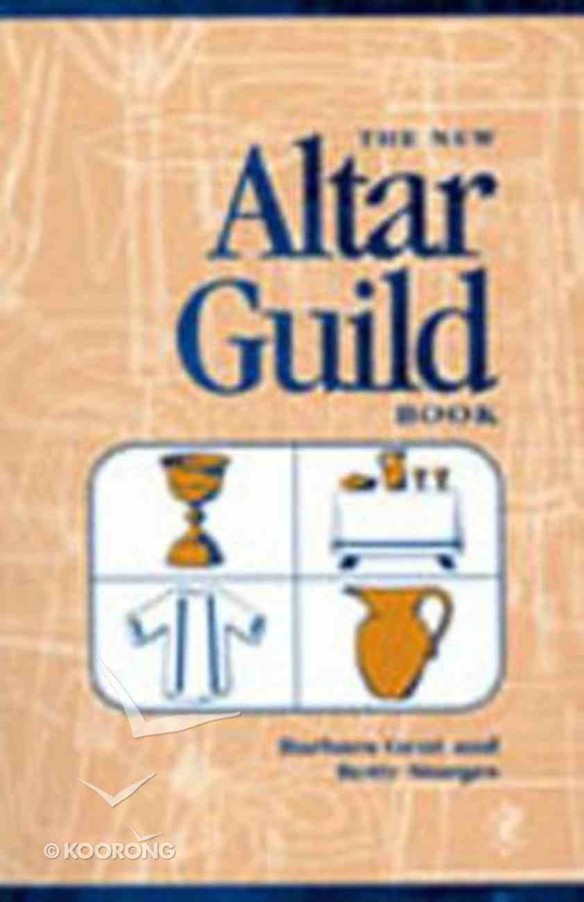 New Altar Guild Book Paperback