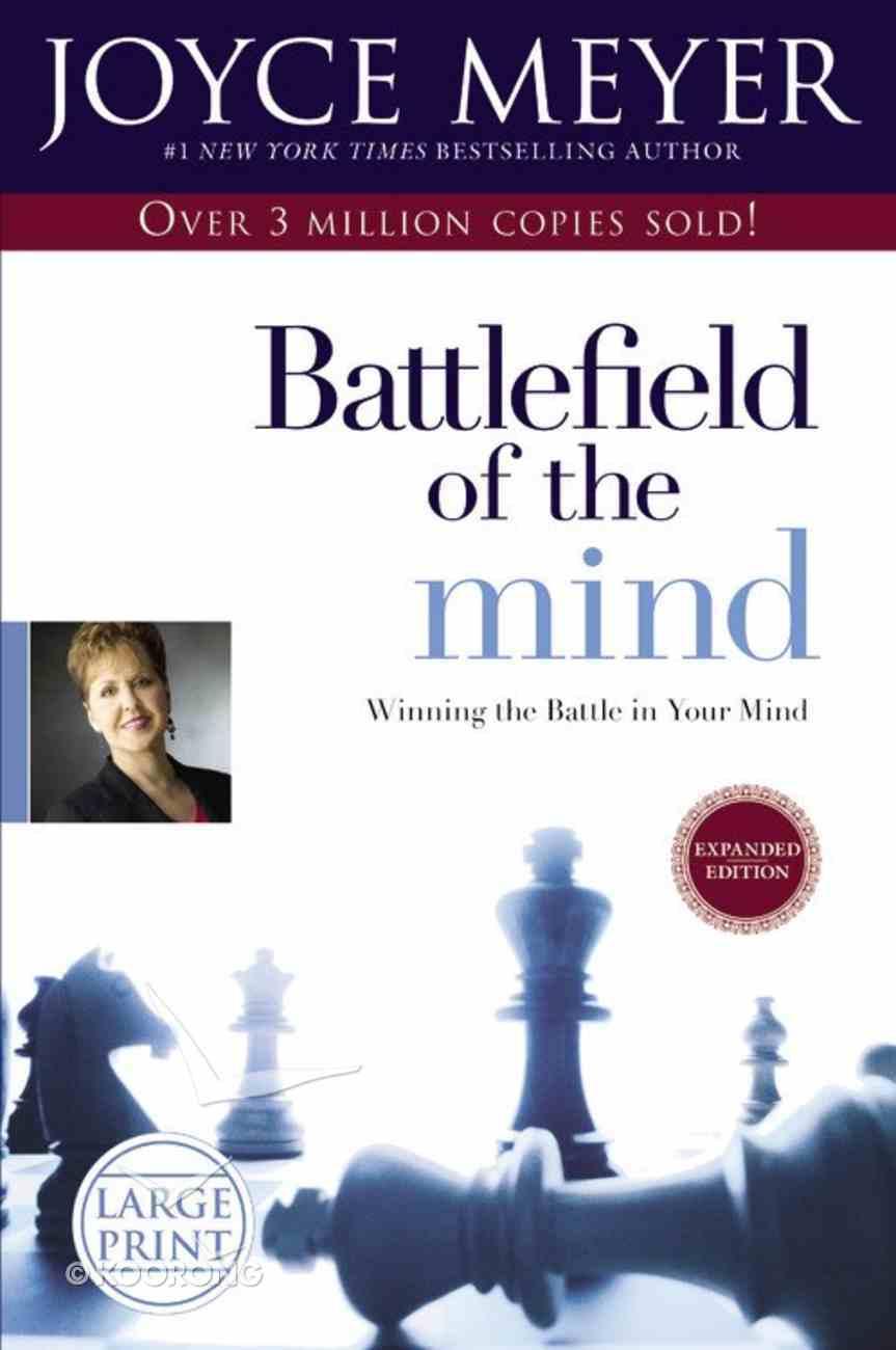 Battlefield of the Mind (Large Print) Hardback