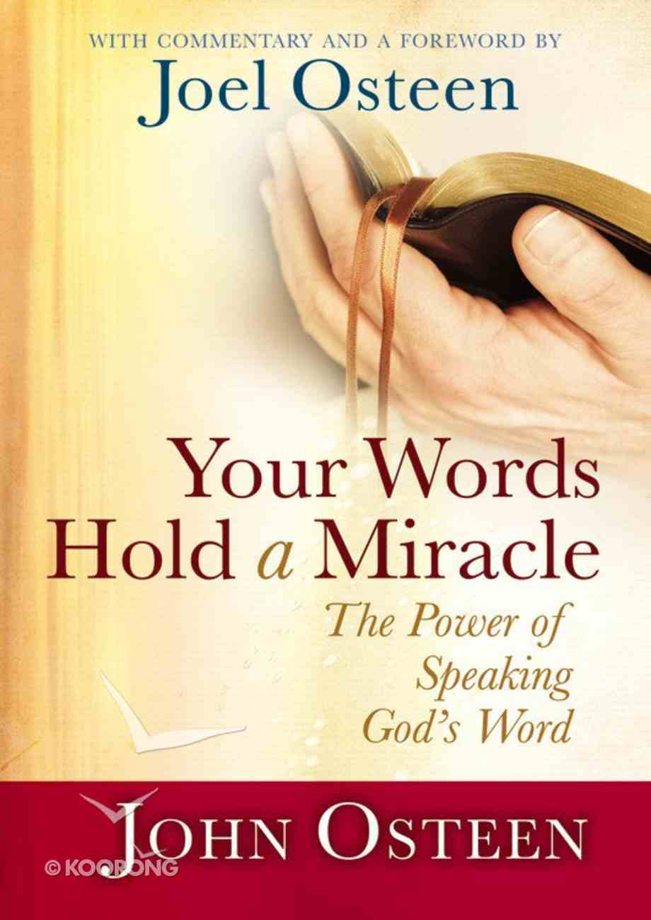 Your Words Hold a Miracle Hardback