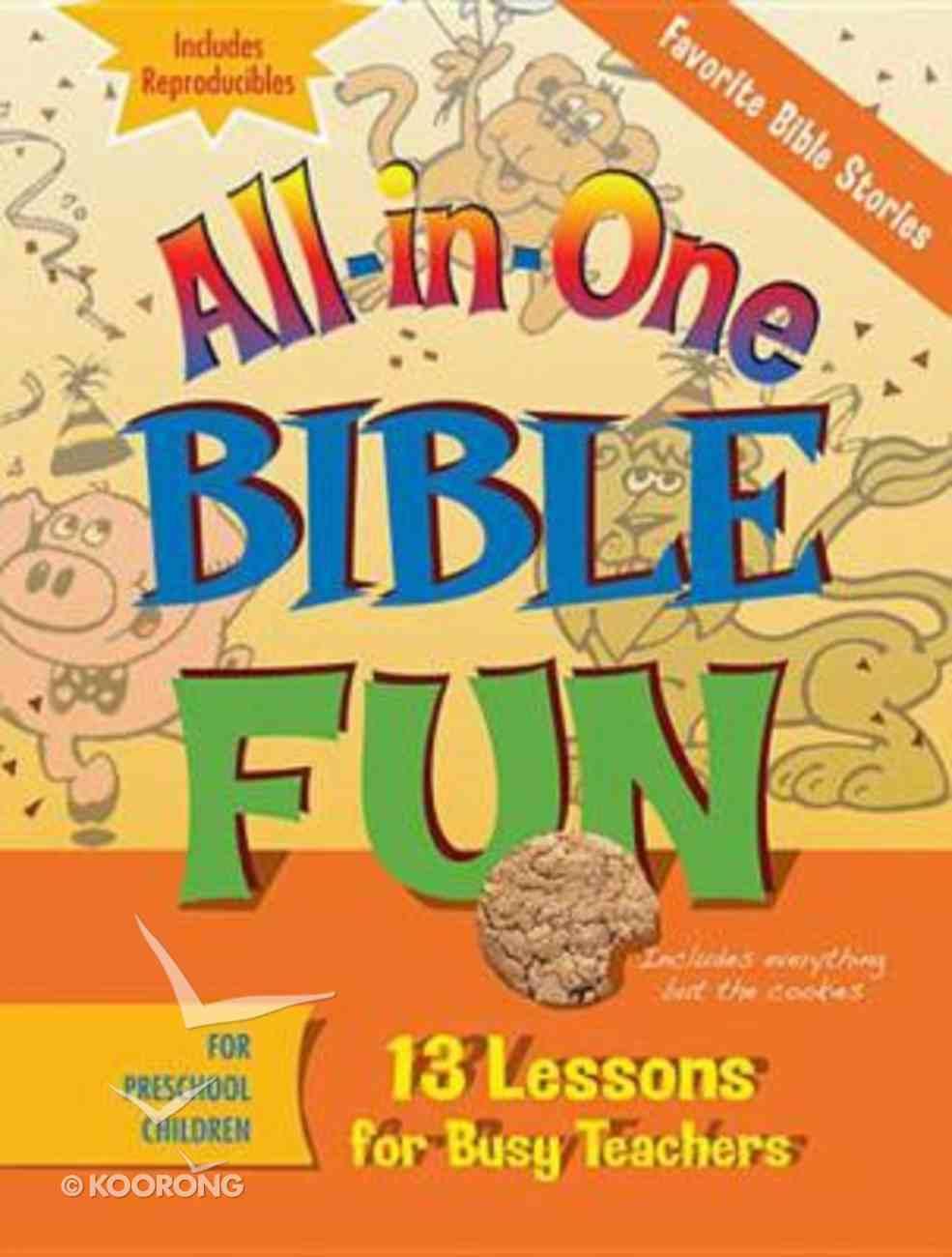 Favourite Stories of the Bible - Preschool (Bible Fun) (All In One Bible Fun Series) Paperback
