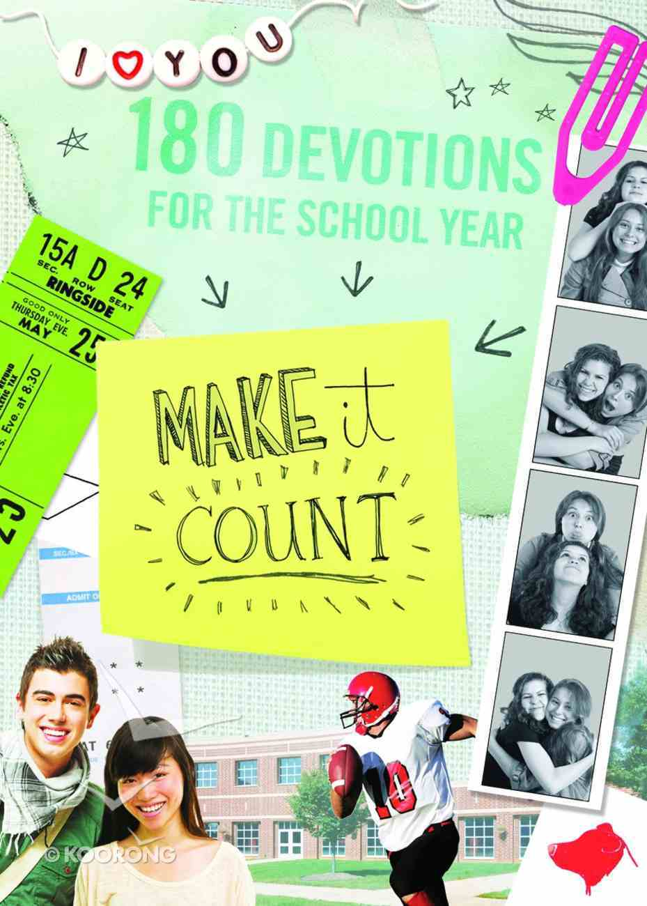 Make It Count Paperback