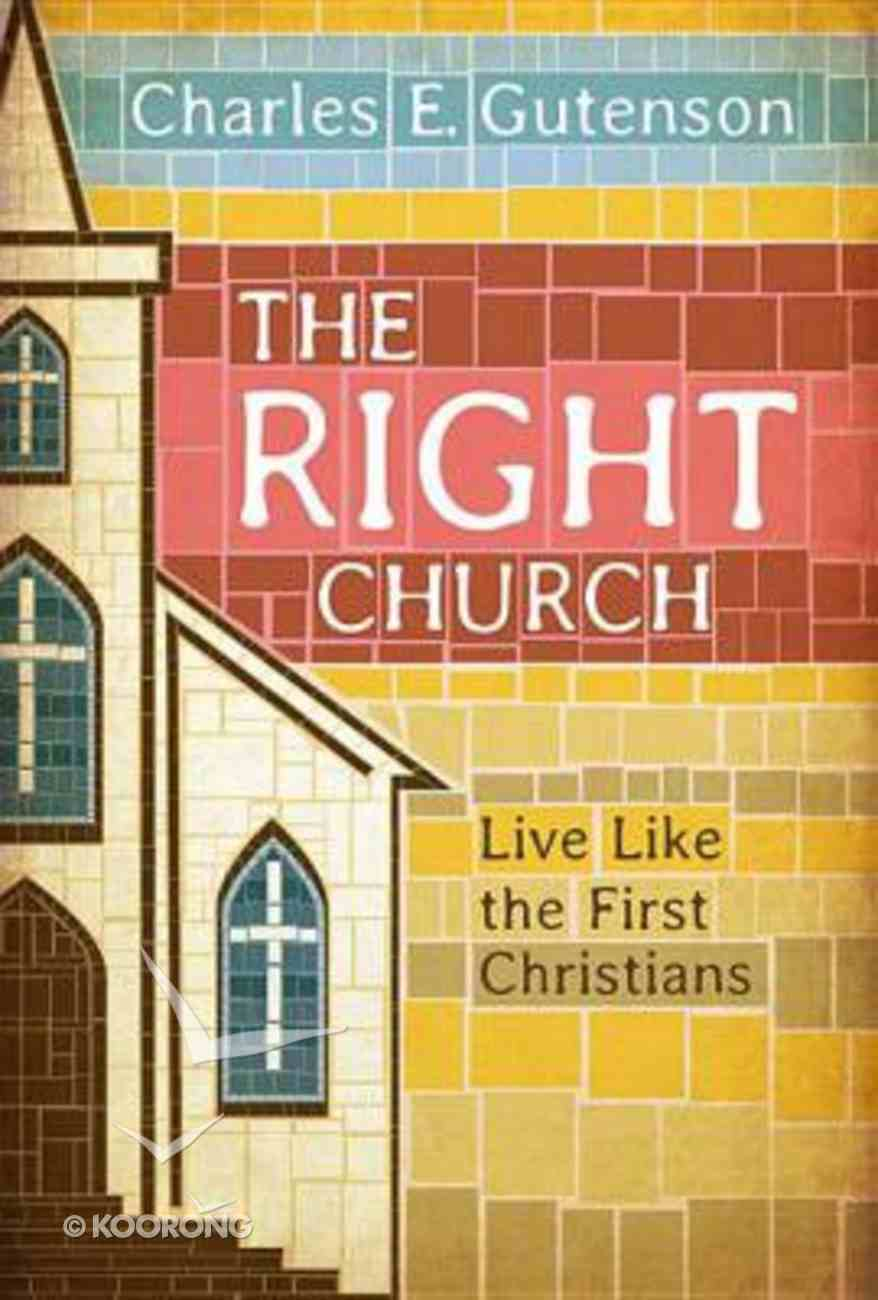 The Right Church Paperback