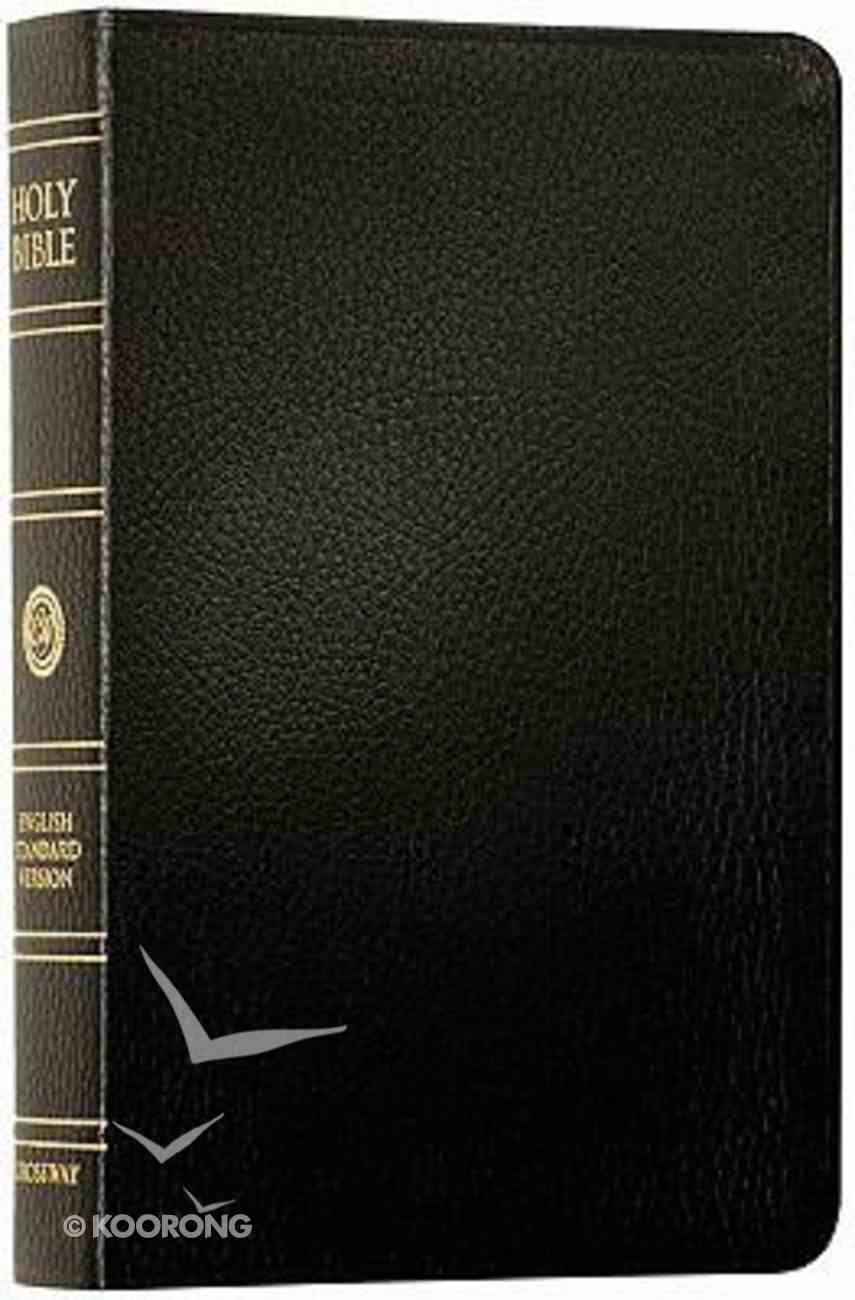 ESV New Classic Reference Bible Black Genuine Leather