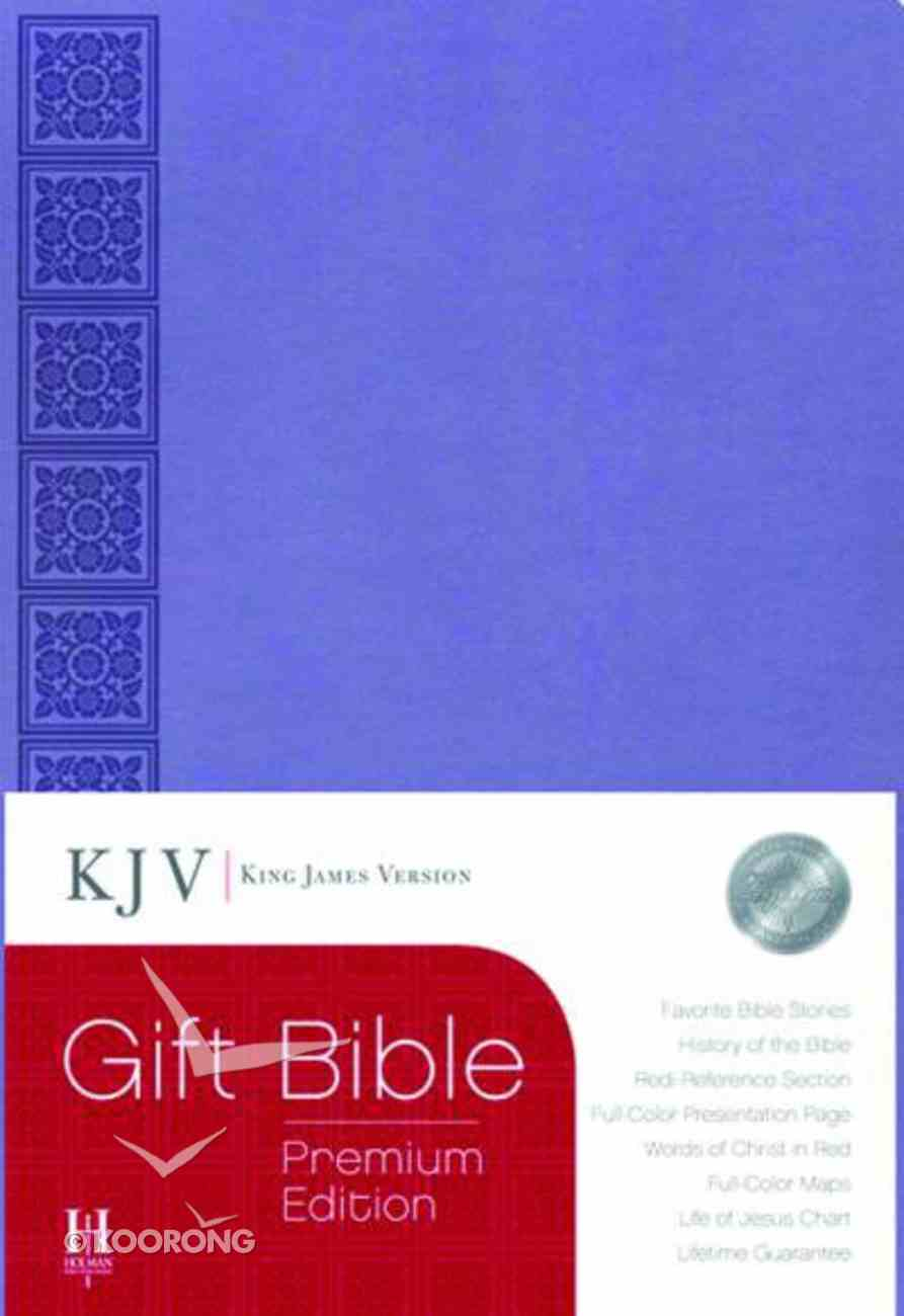 KJV Gift Bible Premium Edition Purple Imitation Leather