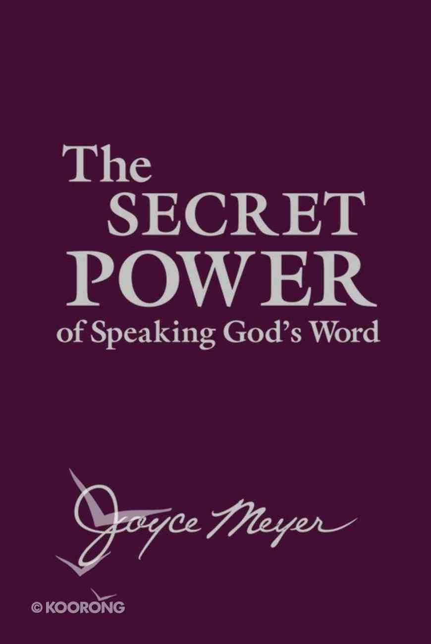 The Secret Power of Speaking God's Word Imitation Leather