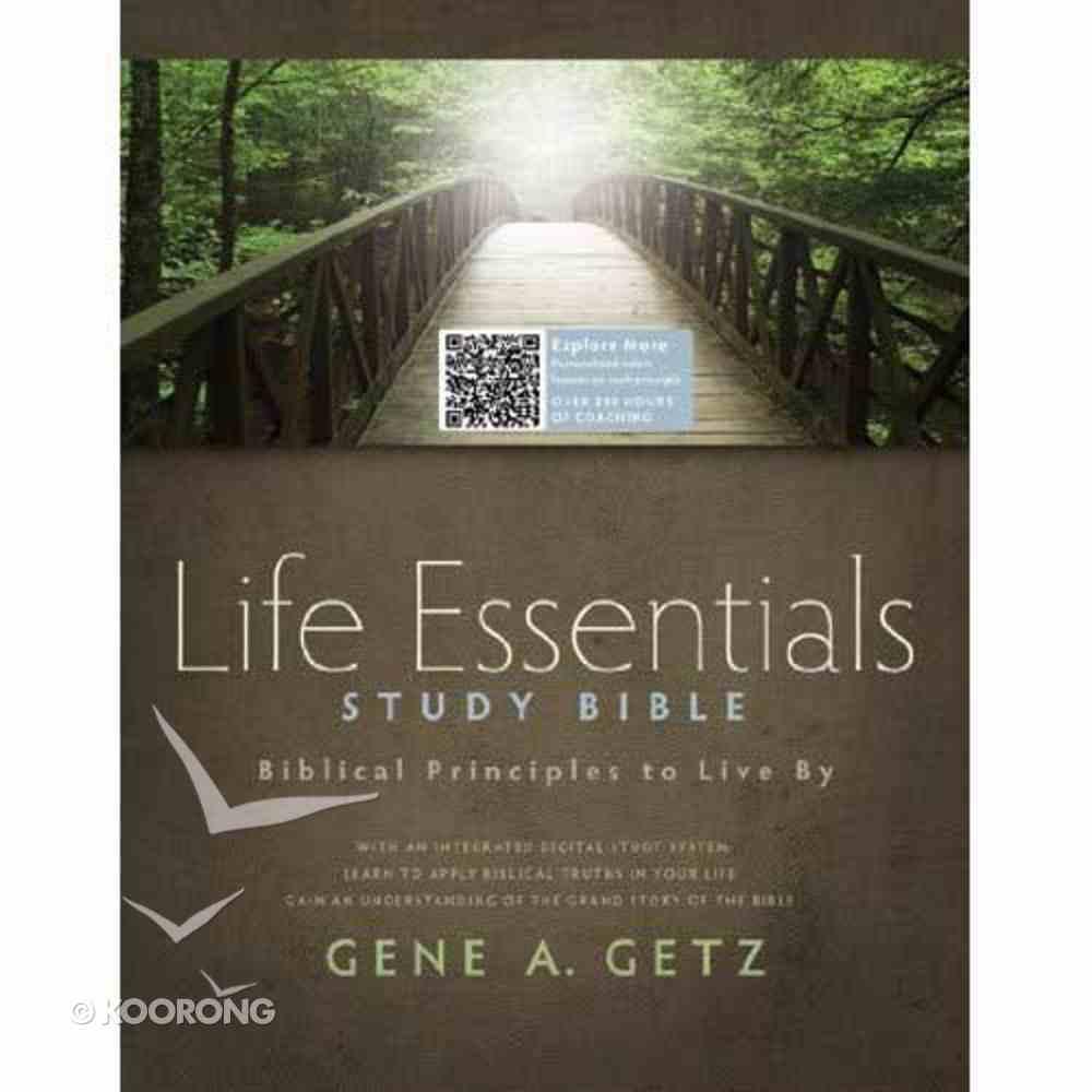 HCSB Life Essentials Study Bible Hardback