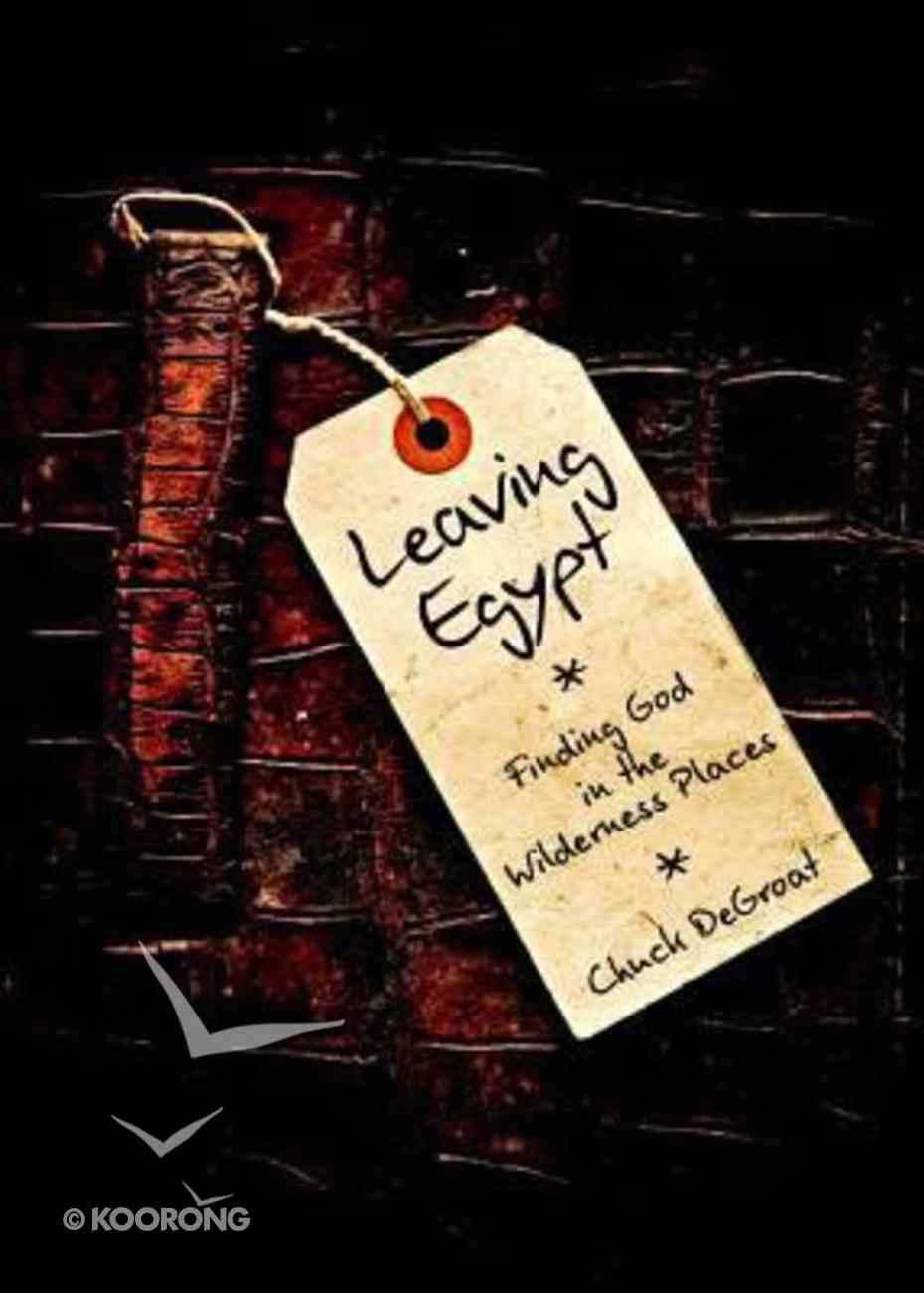 Leaving Egypt Paperback