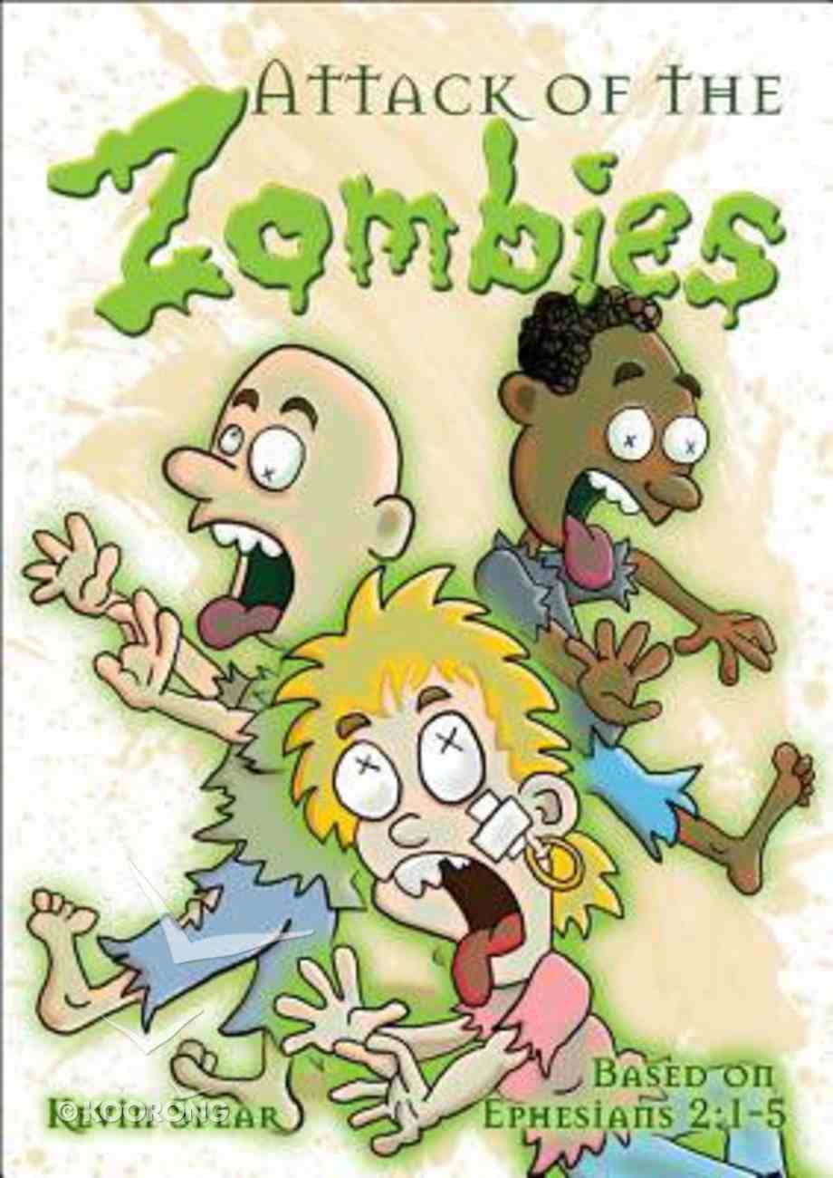 Booklet Attack of the Zombies Booklet