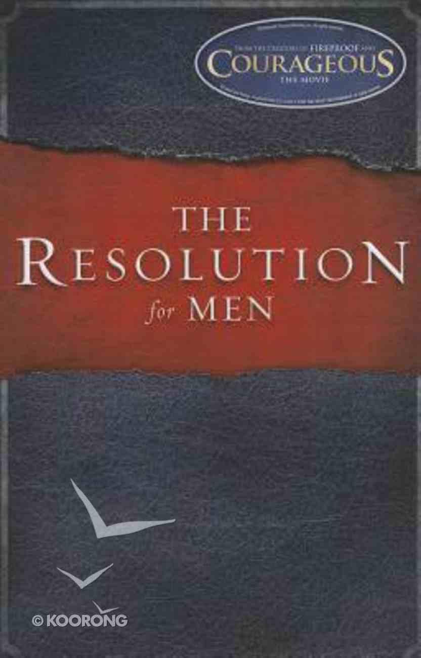 The Resolution For Men (Large Print) Paperback