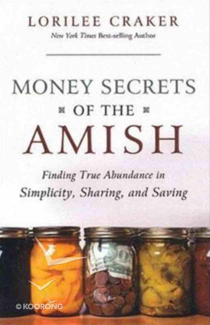 Money Secrets of the Amish Paperback