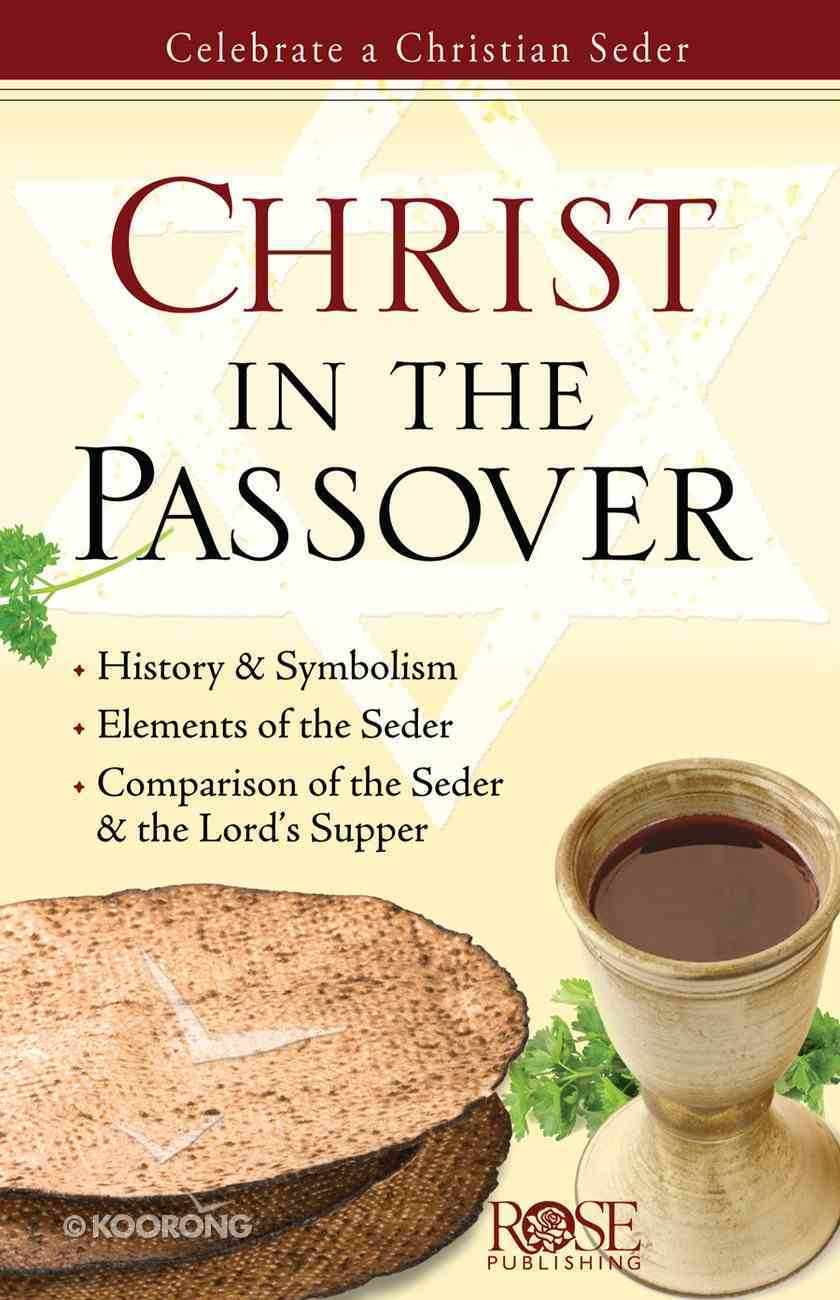 Christ in the Passover (Rose Guide Series) Pamphlet