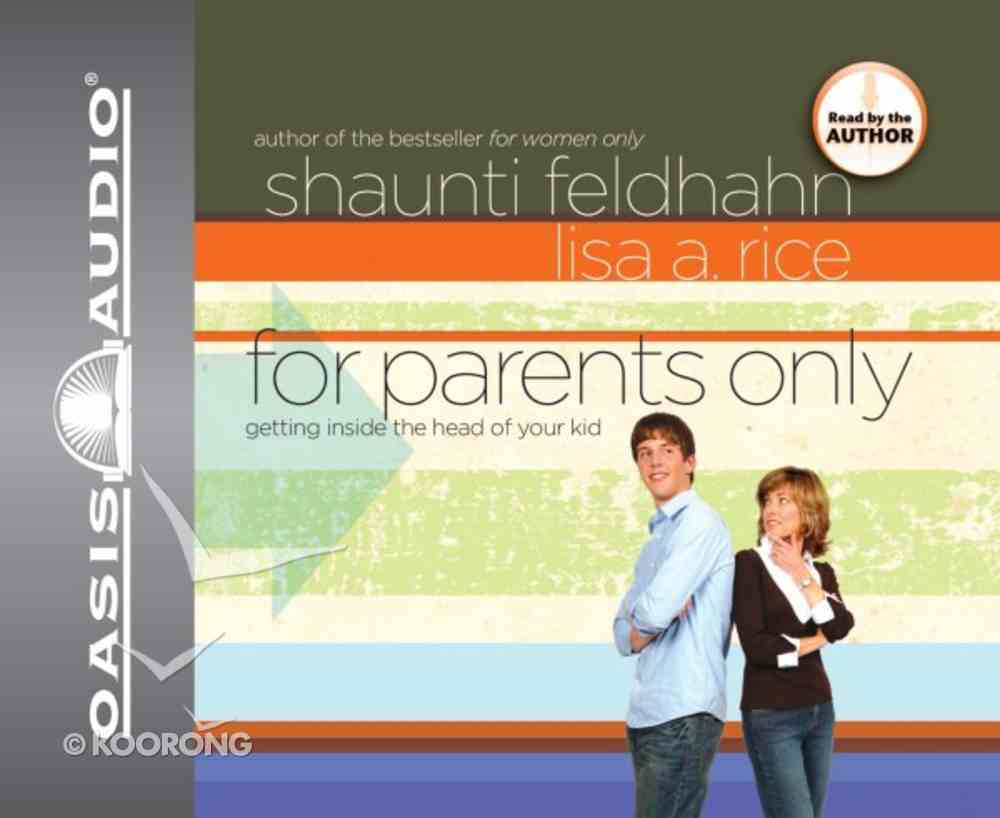 For Parents Only (Unabridged 4cds) CD