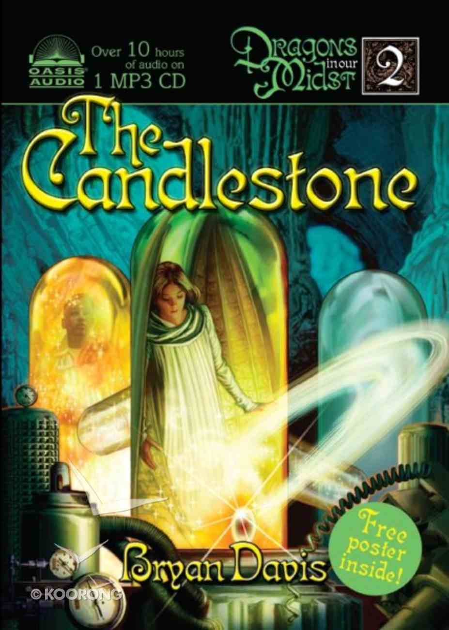 The Candlestone (#02 in Dragons In Our Midst Series) CD