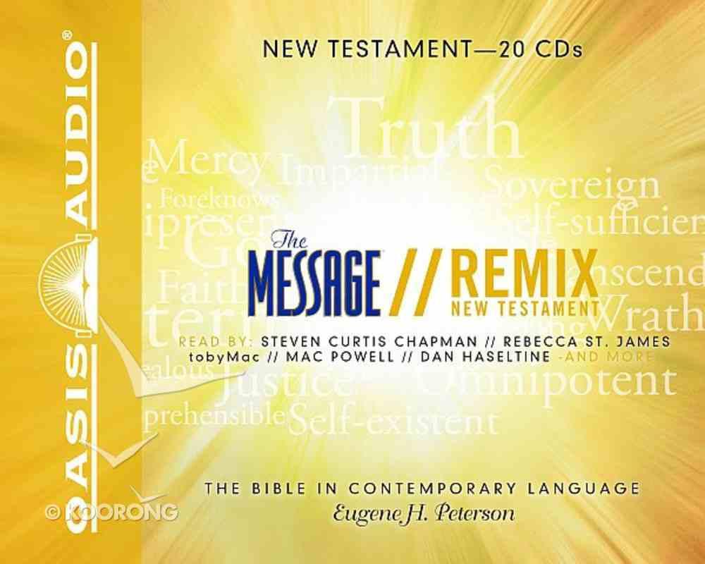 Message Remix New Testament 20 CDS (Unabridged) CD