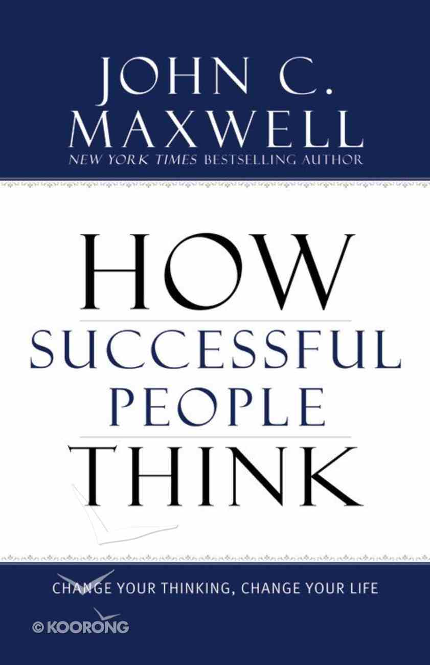How Successful People Think Hardback