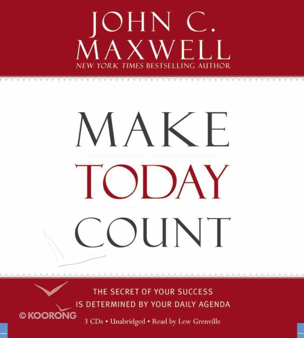 Make Today Count CD